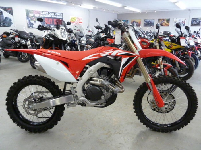 2020 Honda CRF450R Photo 1 of 11