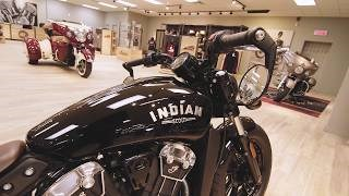 2019 INDIAN SCOUT BOBBER ABS THUNDER BLACK SMOKE Photo 8 of 8