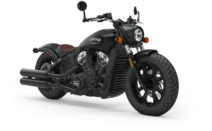 2019 INDIAN SCOUT BOBBER ABS THUNDER BLACK SMOKE Photo 1 of 8