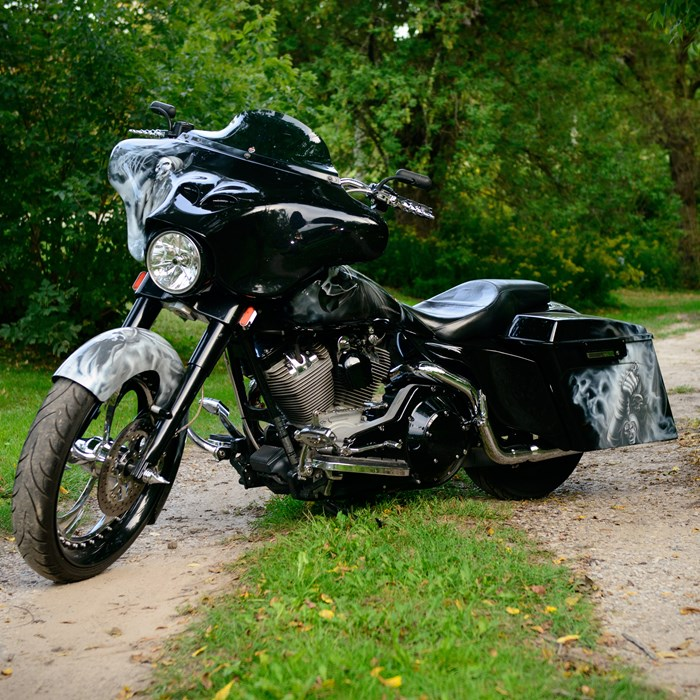 2003 Harley-Davidson FLH Photo 1 of 8