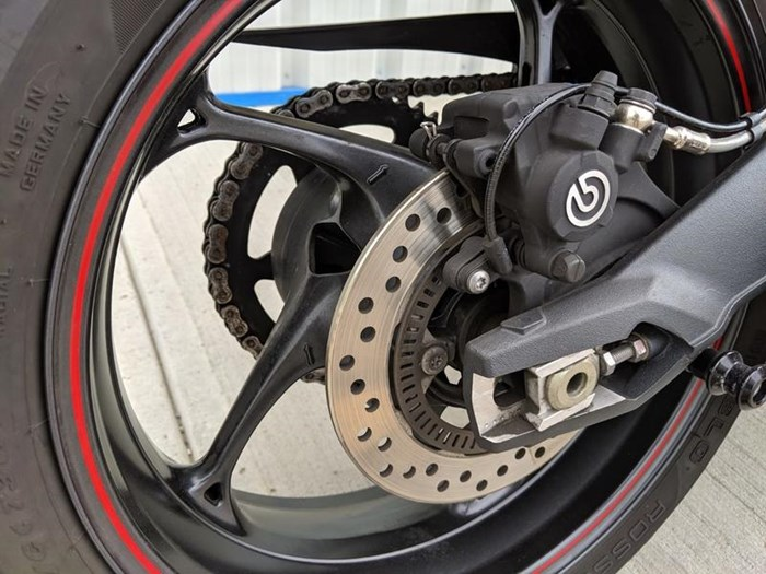 2016 Triumph Street Triple ABS Photo 9 of 12