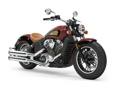 2019 Indian Motorcycle® Scout® ABS Indian Motorcycle® Red / Thun Photo 1 of 1