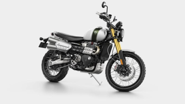 2019 Triumph Scrambler 1200 XE Fusion White Photo 2 of 9