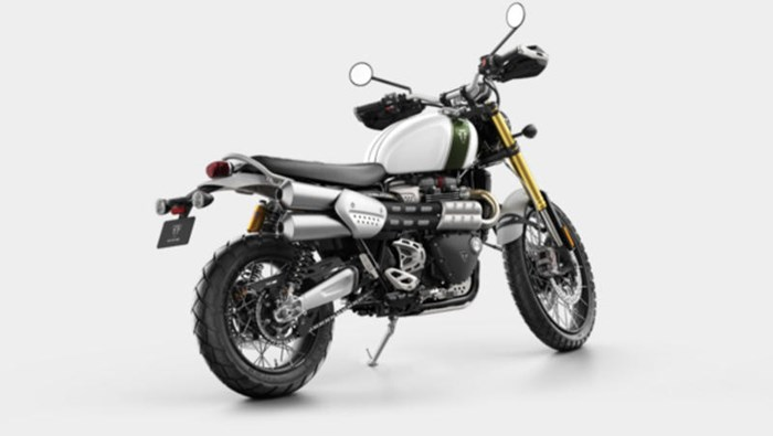 2019 Triumph Scrambler 1200 XE Fusion White Photo 3 of 9