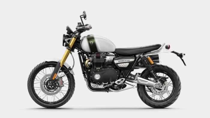 2019 Triumph Scrambler 1200 XE Fusion White Photo 4 of 9