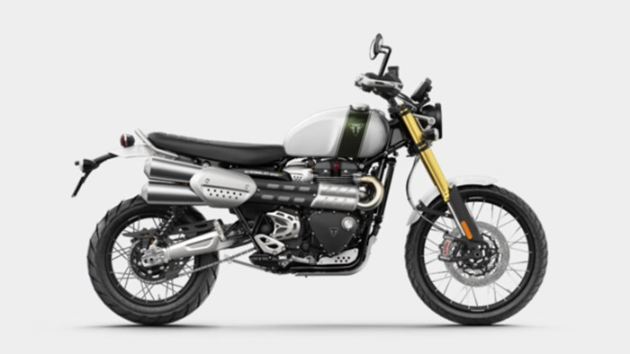 2019 Triumph Scrambler 1200 XE Fusion White Photo 1 of 9