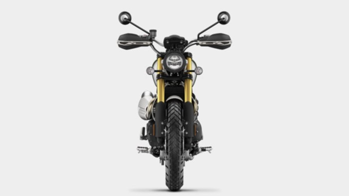 2019 Triumph Scrambler 1200 XE Fusion White Photo 7 of 9