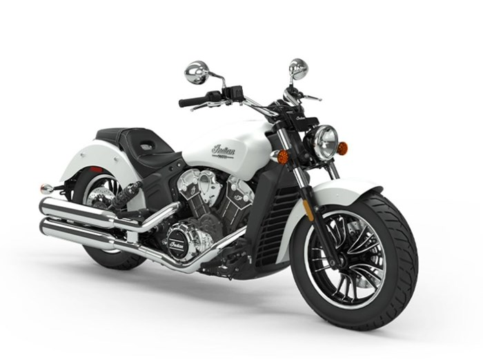 2020 Indian Motorcycle® Scout® ABS White Smoke Photo 1 of 1