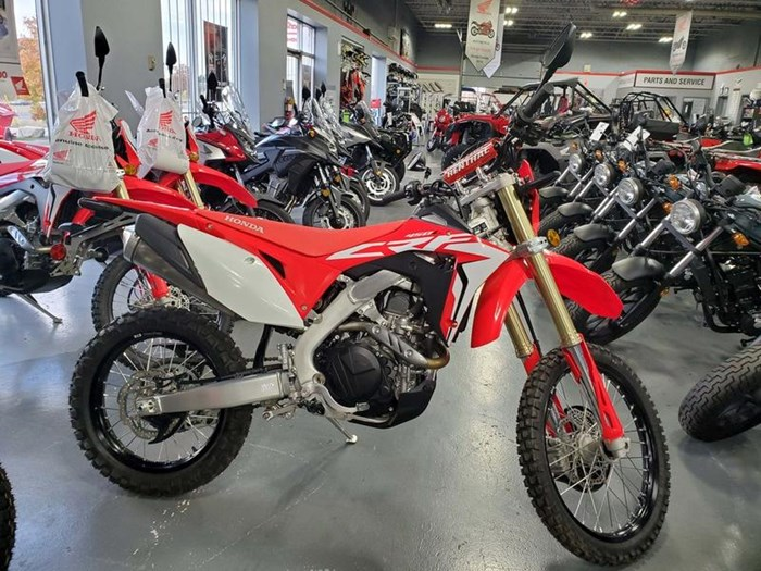 2019 Honda CRF450L Photo 1 of 7