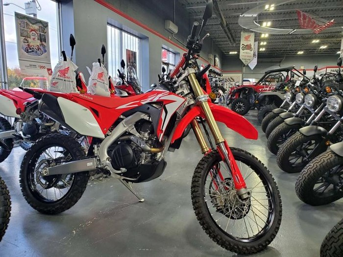 2019 Honda CRF450L Photo 2 of 7