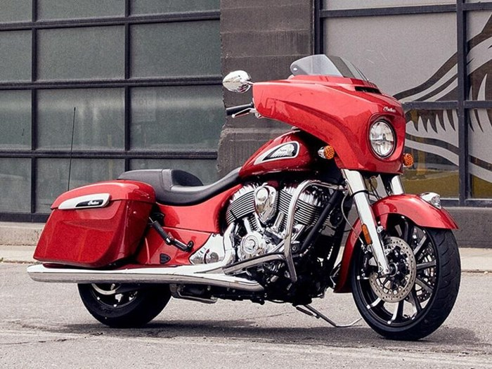 2019 Indian Motorcycle® Chieftain® Limited Ruby Metallic Photo 7 of 8