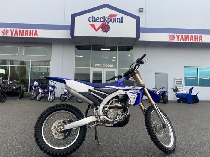 2015 Yamaha YZ 250FX Photo 1 of 3