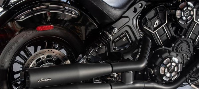 2020 INDIAN Scout Sixty - Thunder Black Photo 2 sur 3
