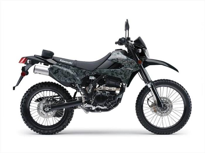 2020 Kawasaki KLX250 CAMO Photo 3 of 8