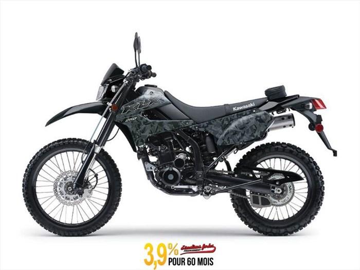 2020 Kawasaki KLX250 CAMO Photo 1 of 8