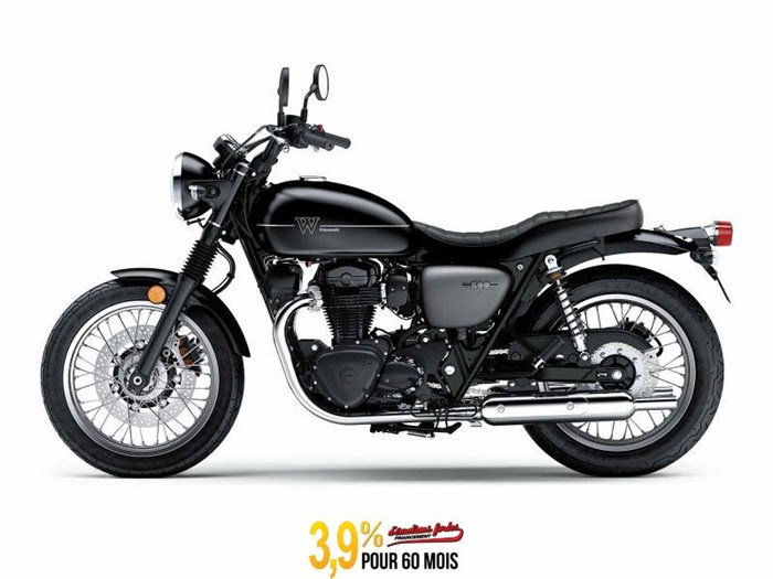 KAWASAKI W800 STREET - NOIR/GRIS 2020 NEW MOTORCYCLE FOR SALE IN SAINT-MATHIAS-SUR-RICHELI