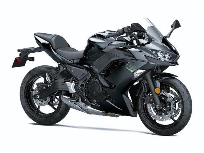 2020 Kawasaki NINJA 650 ABS - METALLIC SPARK BLACK Photo 2 of 3
