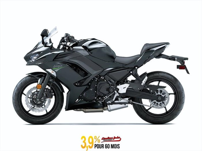 2020 Kawasaki NINJA 650 ABS - METALLIC SPARK BLACK Photo 1 of 3
