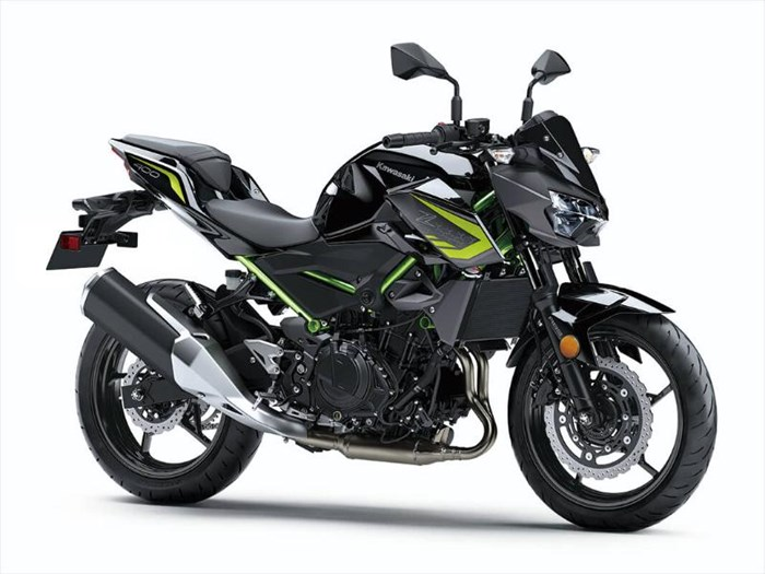 2020 Kawasaki Z400 ABS - GRIS/ NOIR Photo 2 of 6
