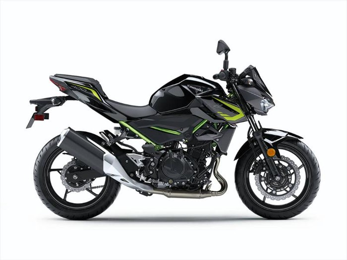 2020 Kawasaki Z400 ABS - GRIS/ NOIR Photo 3 of 6