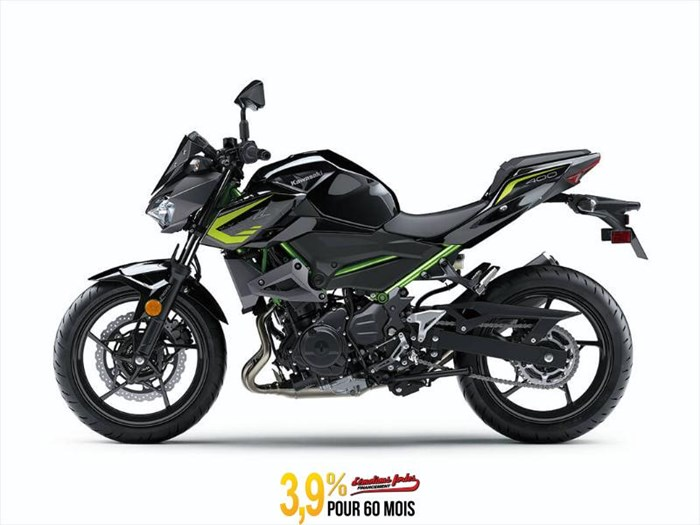 2020 Kawasaki Z400 ABS - GRIS/ NOIR Photo 1 of 6