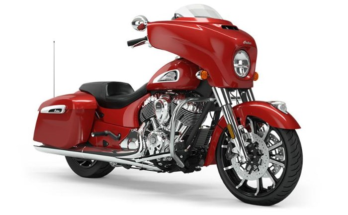 2019 INDIAN CHIEFTAIN LIMITED RUBY METALLIC Photo 2 sur 9