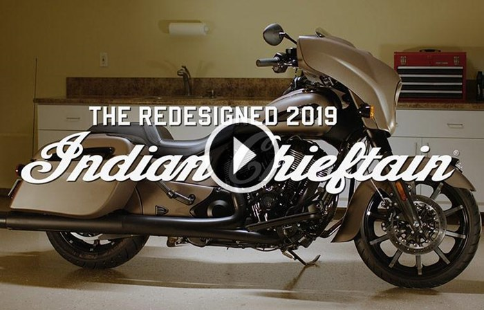 2019 INDIAN CHIEFTAIN LIMITED RUBY METALLIC Photo 3 sur 9