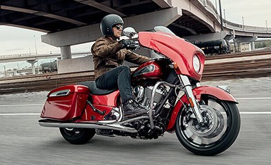 2019 INDIAN CHIEFTAIN LIMITED RUBY METALLIC Photo 4 sur 9