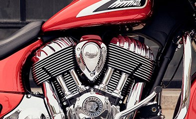 2019 INDIAN CHIEFTAIN LIMITED RUBY METALLIC Photo 5 sur 9