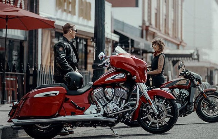2019 INDIAN CHIEFTAIN LIMITED RUBY METALLIC Photo 6 sur 9