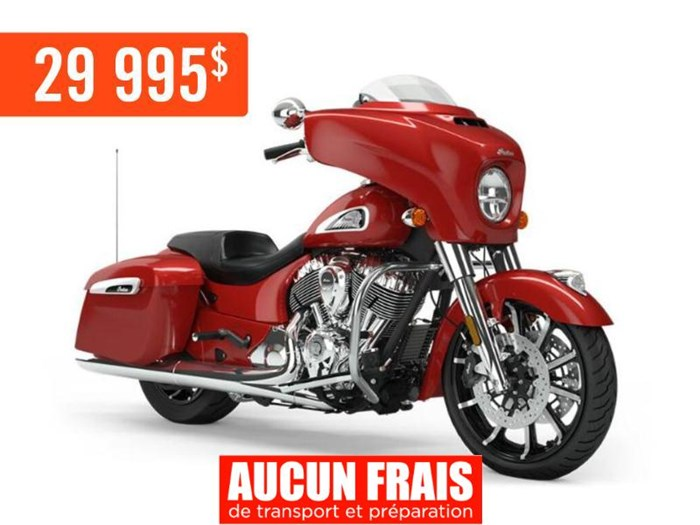 2019 INDIAN CHIEFTAIN LIMITED RUBY METALLIC Photo 1 sur 9