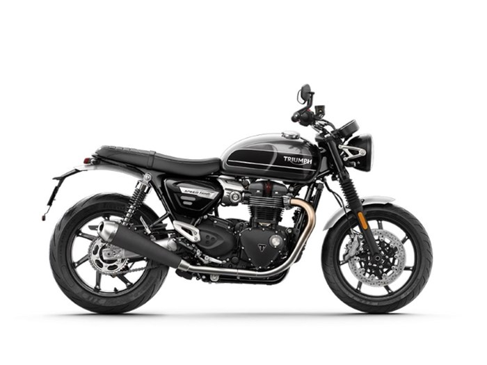 2020 Triumph Speed Twin 1200 Silver Ice and Storm Grey Photo 1 of 1