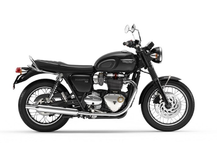 2020 Triumph Bonneville T120 Jet Black Photo 1 of 1