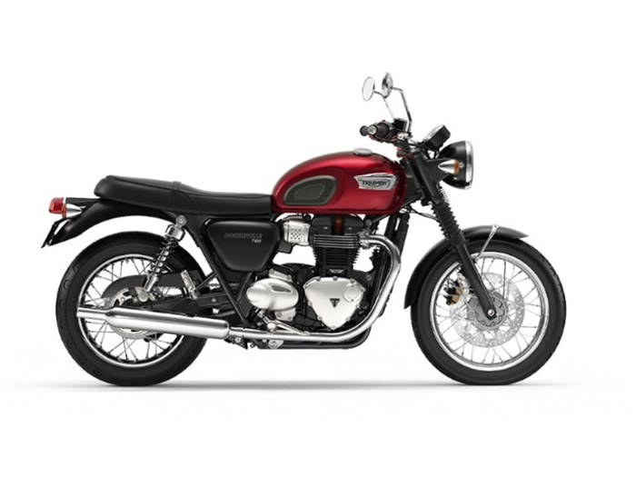 2020 Triumph Bonneville T100 Cranberry Red Photo 1 of 1