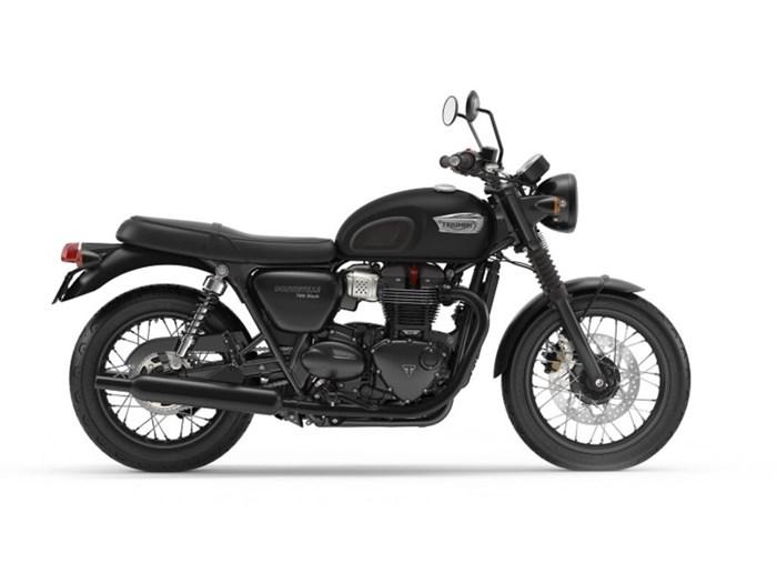 2020 Triumph Bonneville T100 Black Matte Black Photo 1 of 1