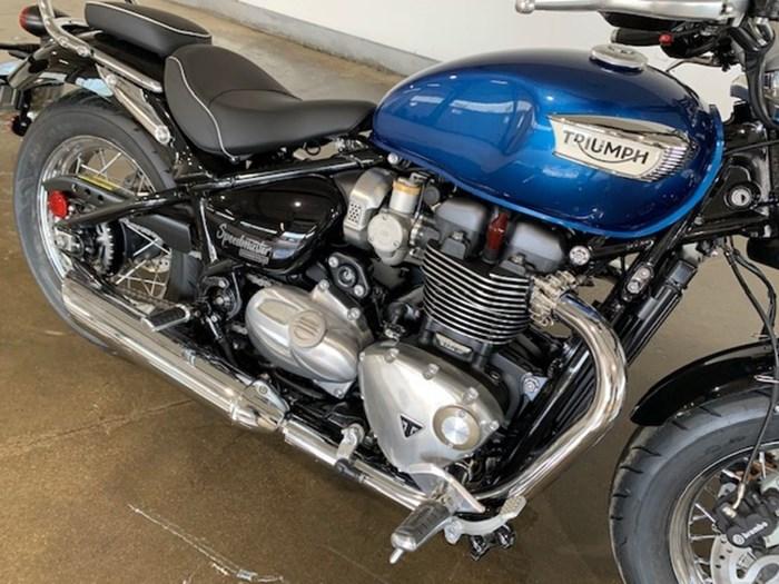 2020 Triumph Bonneville Speedmaster Cobalt Blue / Jet Photo 7 of 7