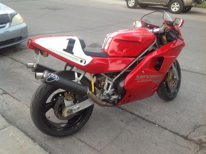 1993 Ducati 888 SPO Photo 6 sur 8