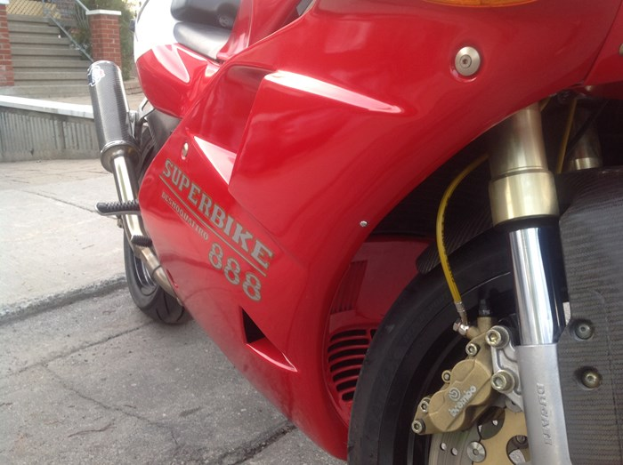 1993 Ducati 888 SPO Photo 7 sur 8