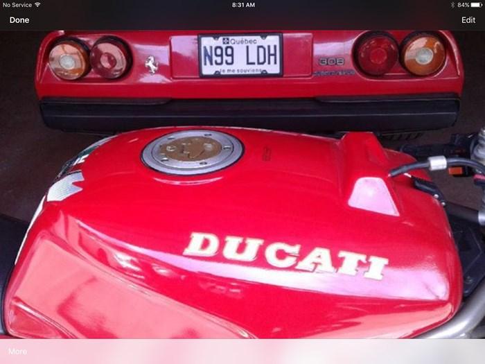 1993 Ducati 888 SPO Photo 8 sur 8