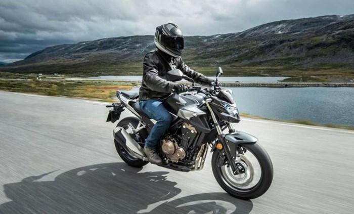2020 Honda CB500F Photo 2 of 6