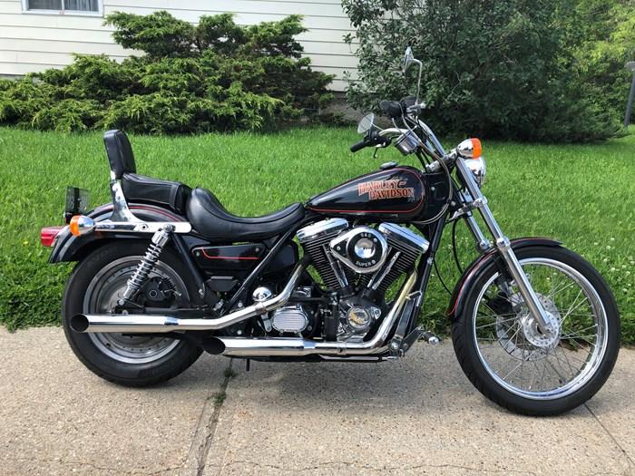 1987 Harley-Davidson FXLR Custom Photo 1 of 9