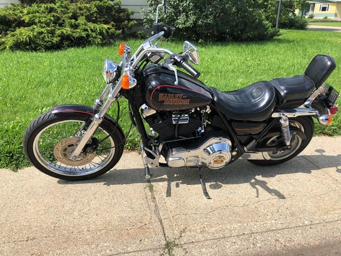 1987 Harley-Davidson FXLR Custom Photo 7 of 9