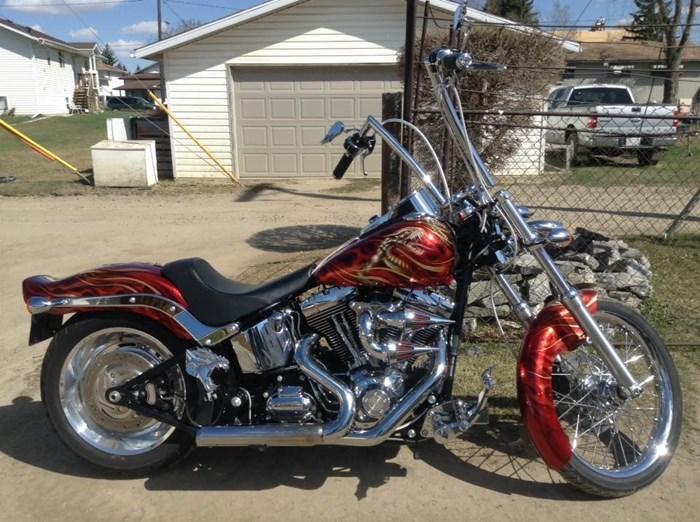 2008 Harley-Davidson FXSTC Photo 4 of 5