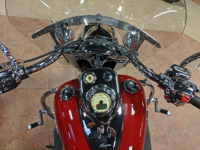2014 Indian Motorcycle® Chief® Vintage Indian Motorcycle® Red Photo 9 of 11