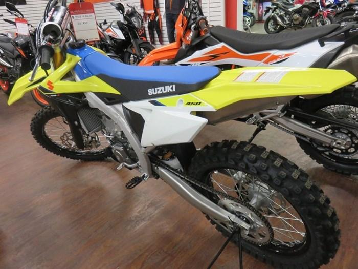 2020 Suzuki RM-Z450 Photo 7 of 9