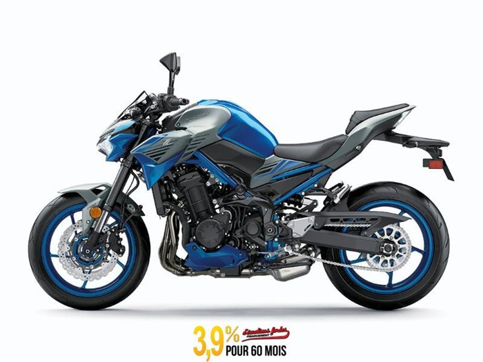 2020 Kawasaki Z900 ABS - BLEU Photo 1 of 3