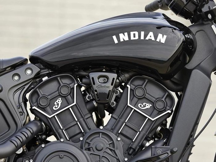 2021 Indian Motorcycle® Scout® Bobber Sixty ABS Thunder Black Photo 3 of 4