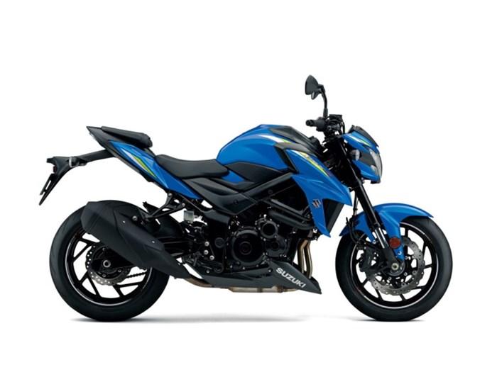 2020 Suzuki GSX-S750 Metallic Triton Blue Photo 1 of 1