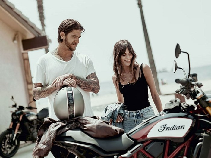 2019 Indian Motorcycle® FTR™ 1200 S Race Replica Photo 8 of 9