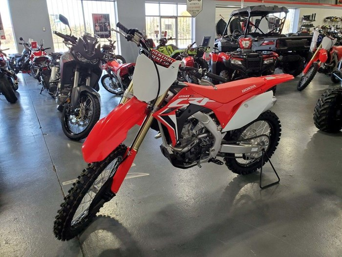 2021 Honda CRF250R Photo 4 of 6